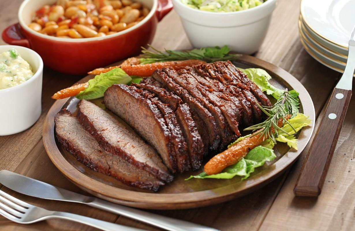 Barbecue beef brisket - Houston, Texas
