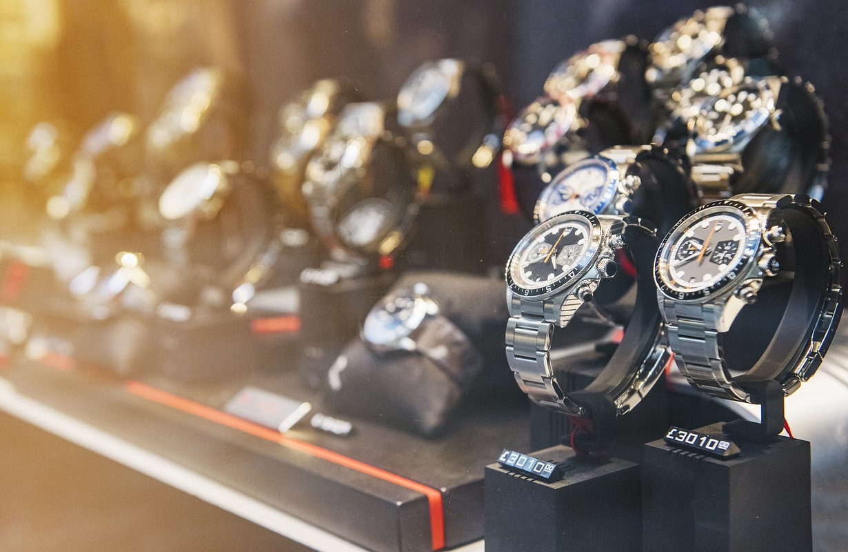 luxury watches in store