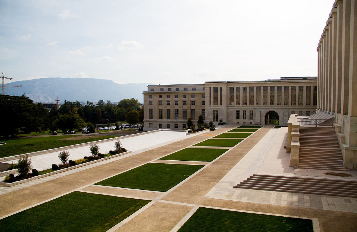 Palais de Nations, Geneva