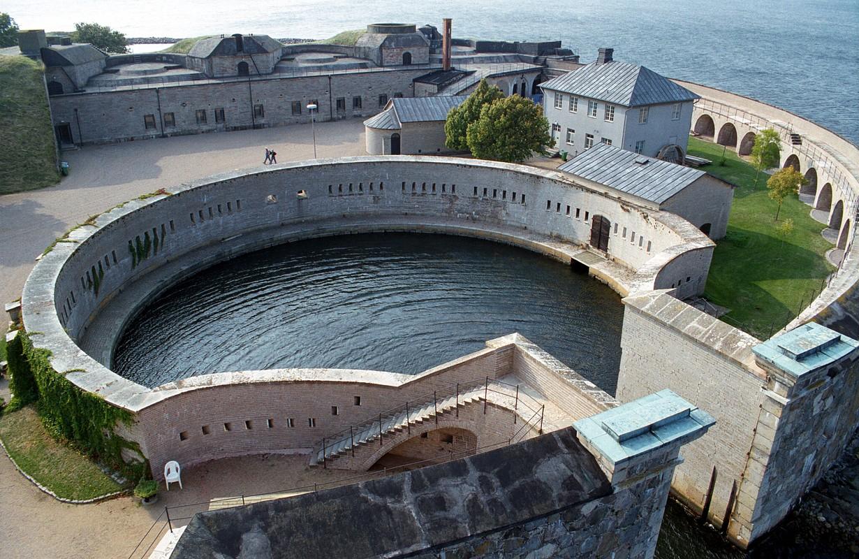 Kungsholmen fortress harbour
