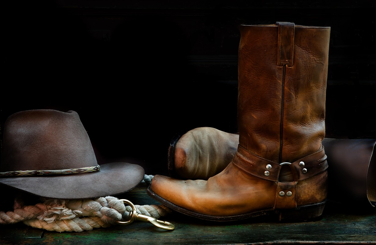 Cowboy boots and a hat - Houston, Texas