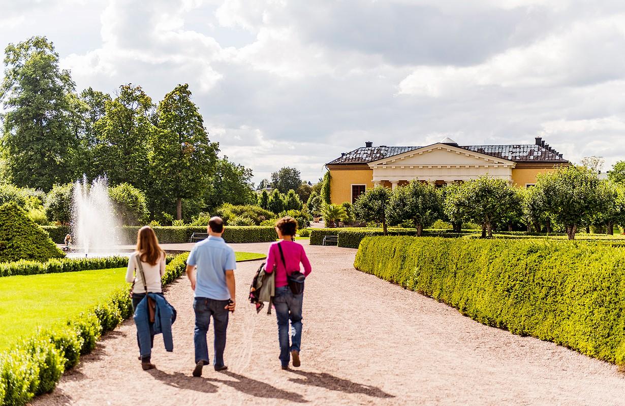 The Botanical Garden, Uppsala
