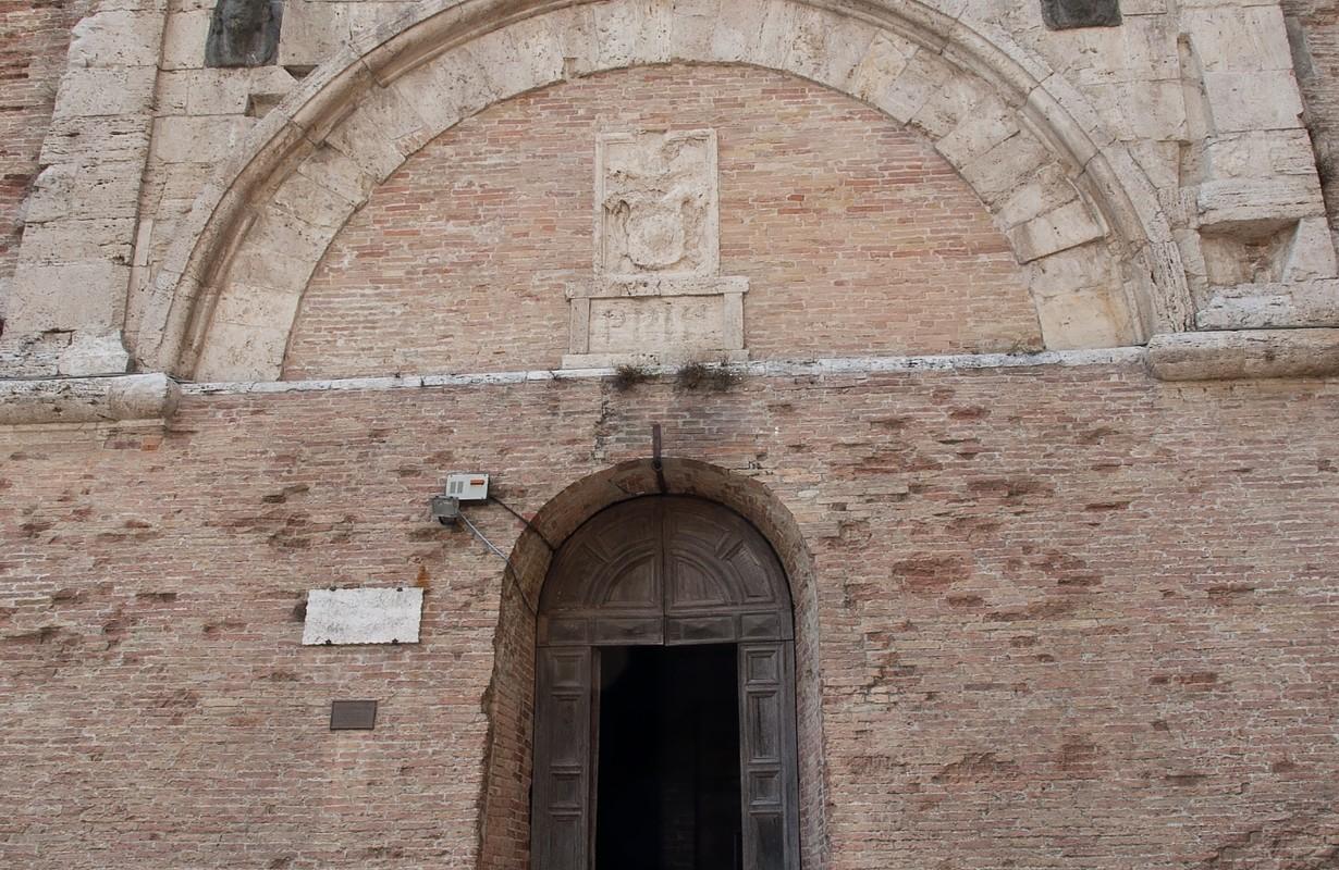 Etruscan Porta Marzia in Perugia