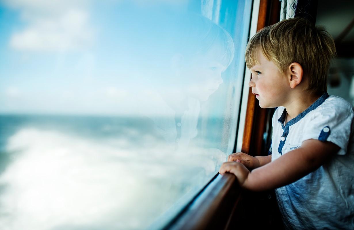 By boat in Karlskrona