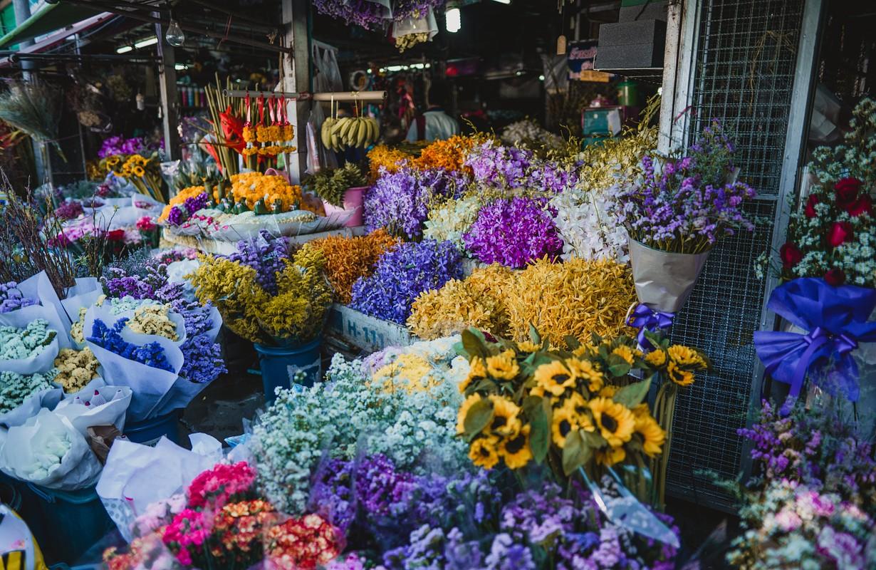 Flower colurful Flower market