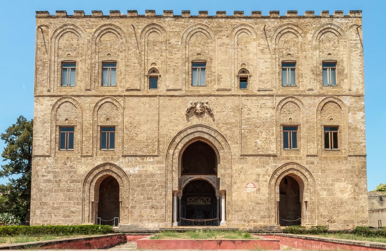 Zisa Castle in Palermo