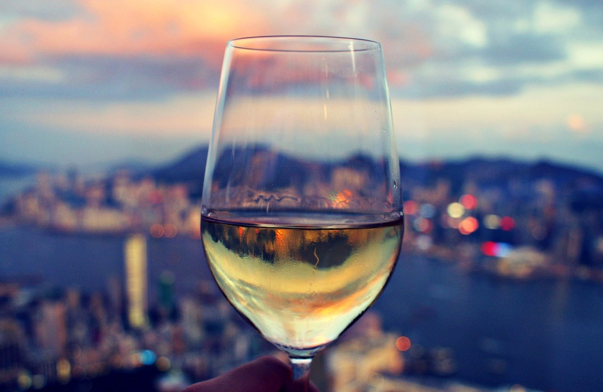 White Wine on the Skyline