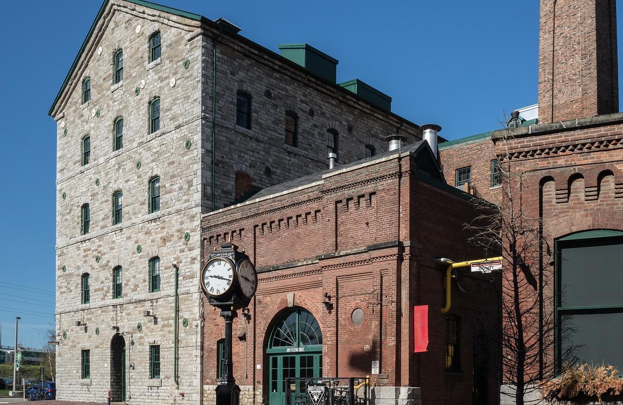 Toronto distillery district