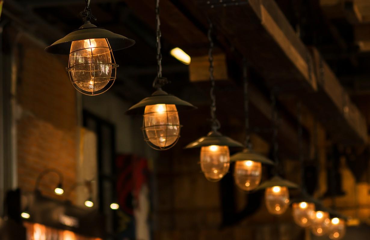 cosy bar interior lights