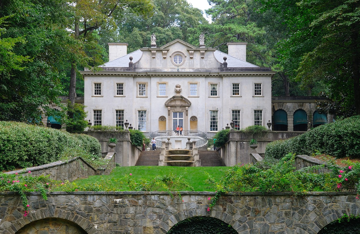 Swan House in Atlanta, Georgia