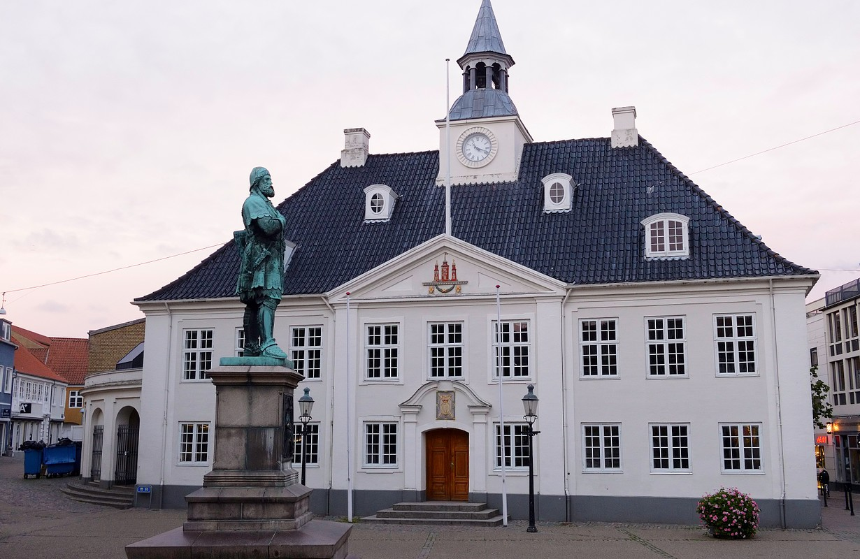 Old Town Hall in Randers, Denmark