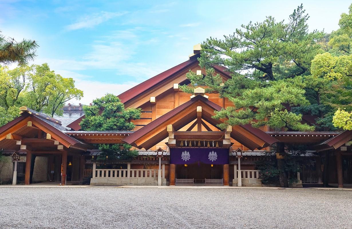 Atsuta-jingu (Atsuta Shrine) in Nagoya