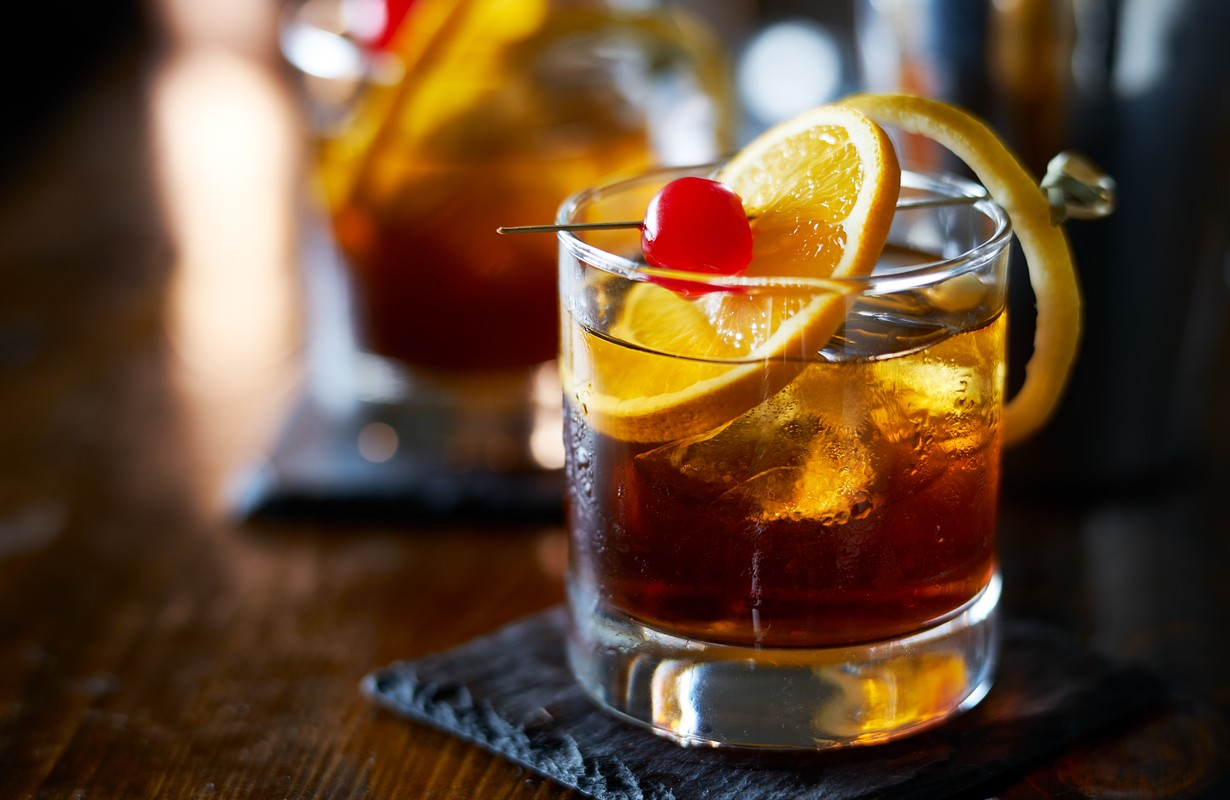 Old-fashioned drinks