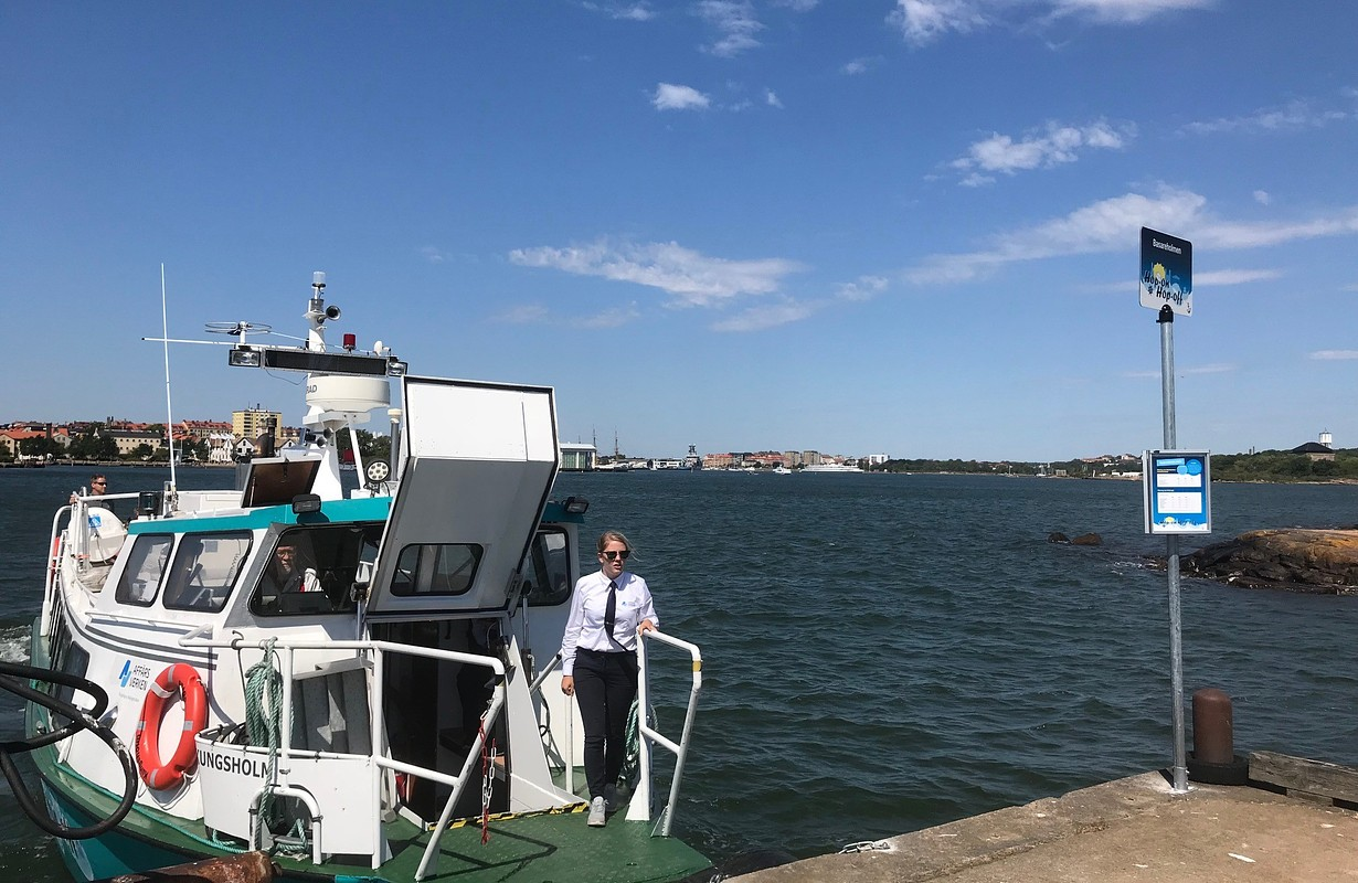 Båt Kungsholm Karlskrona