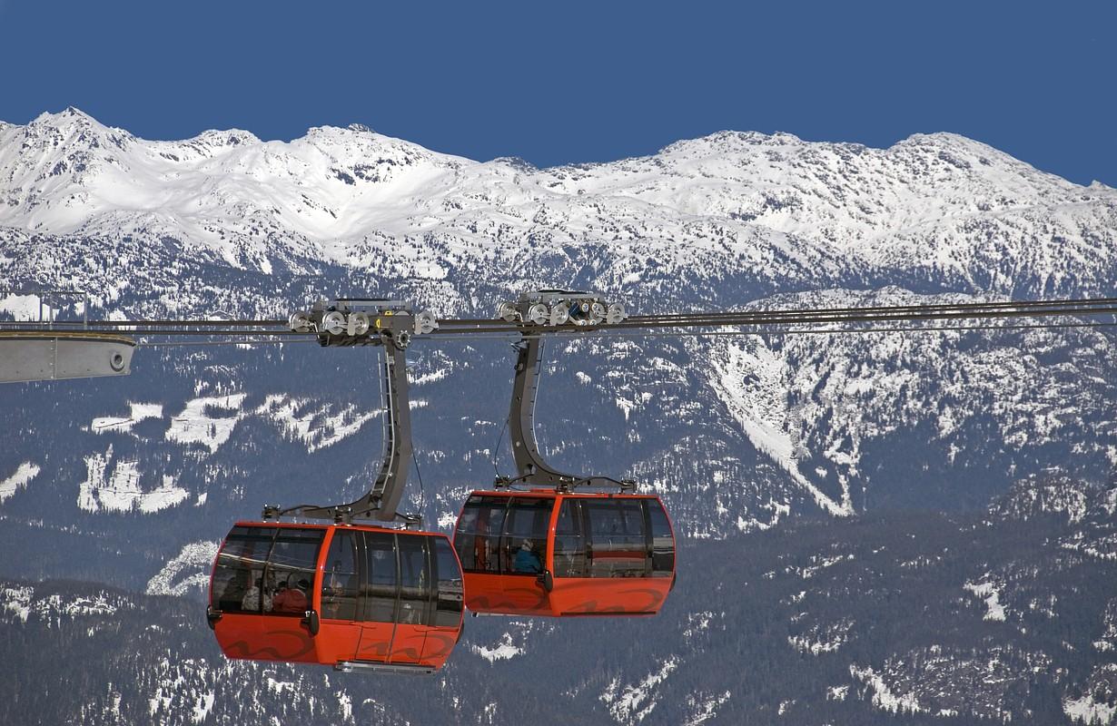 PEAK 2 PEAK Gondola, Whistler, BC: World longest free span between ropeway towers