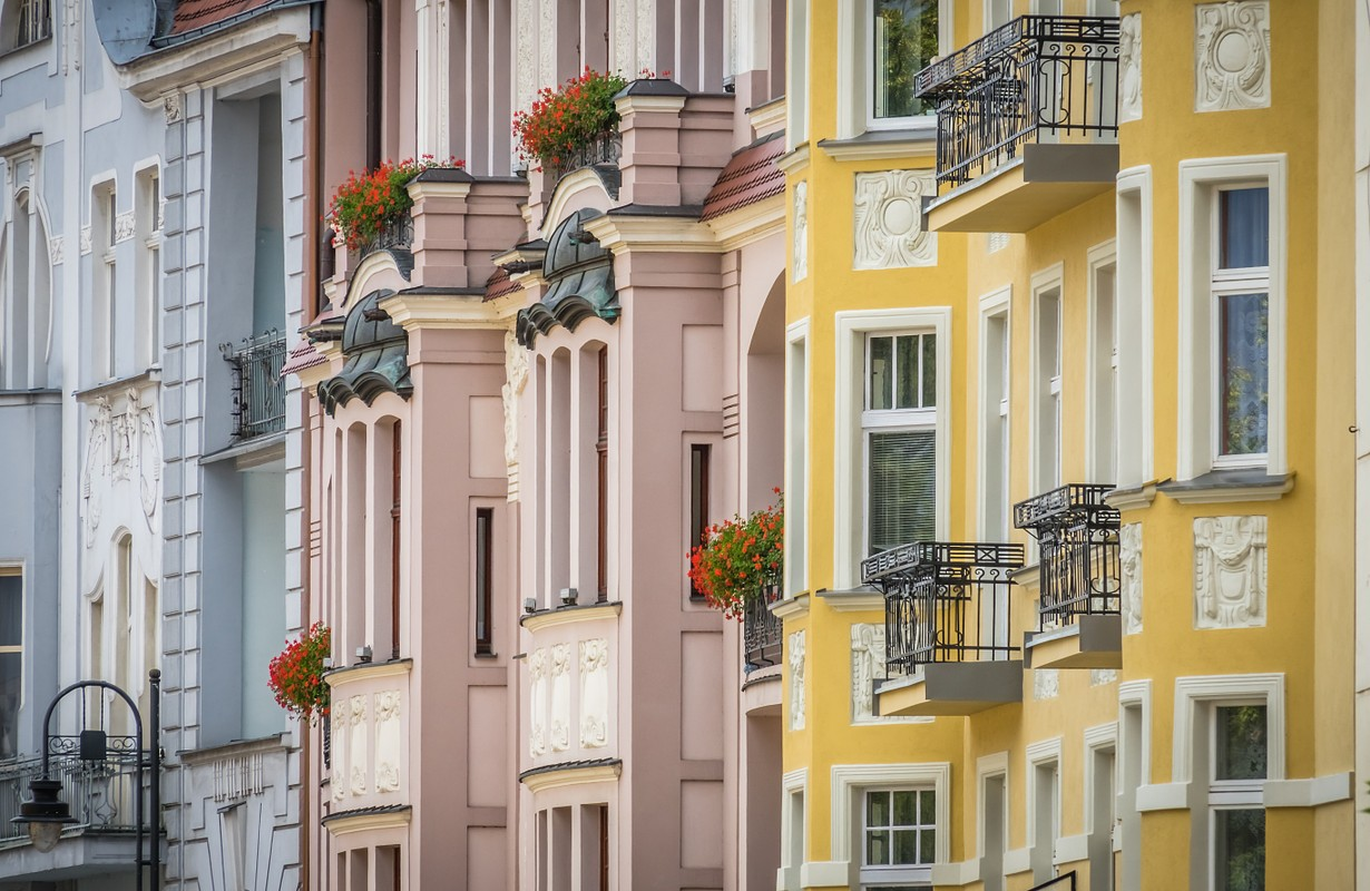 Houses in Bydgoszcz