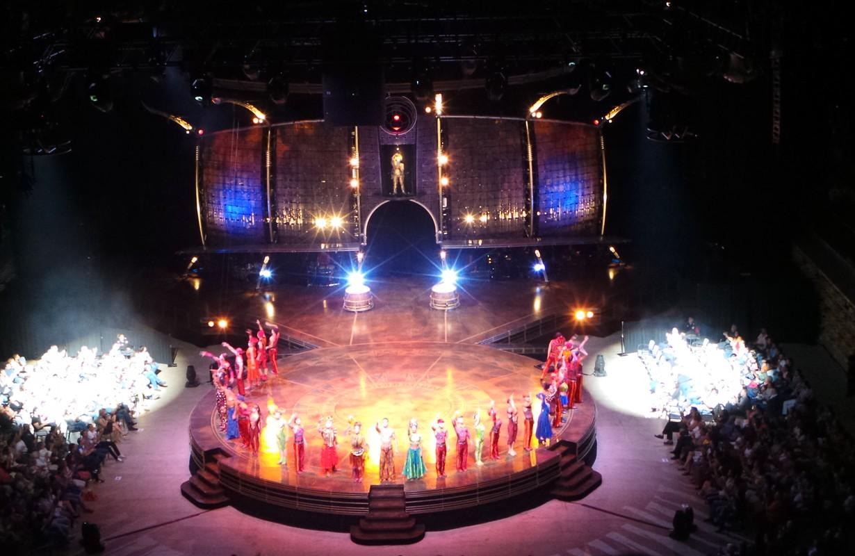 Cirque du Soleil ending