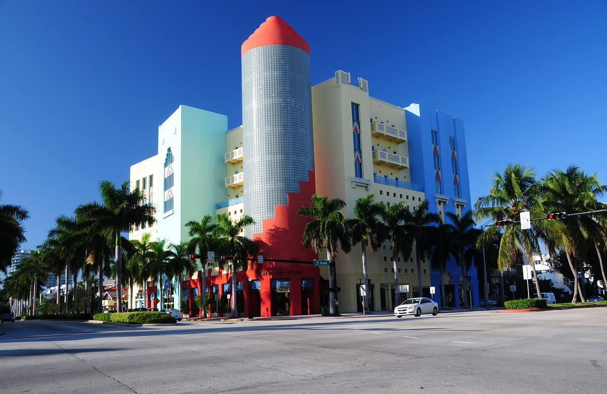 Art Deco district in Miami Beach