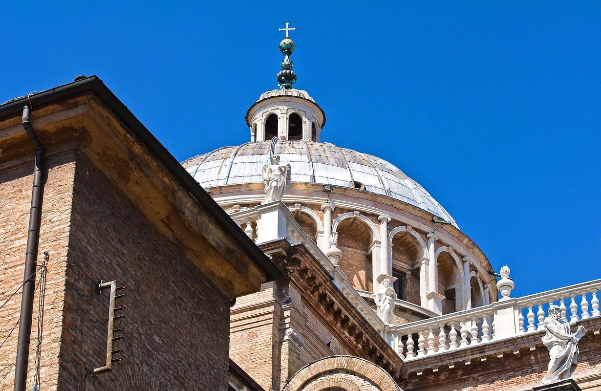 St. Maria della Steccata Shrine. Parma. Emilia-Romagna. Italy.