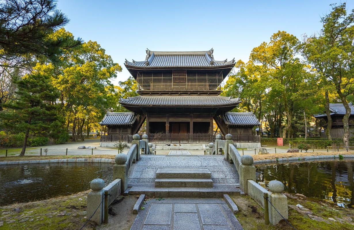 Shofukuji Temple, Fukuoka