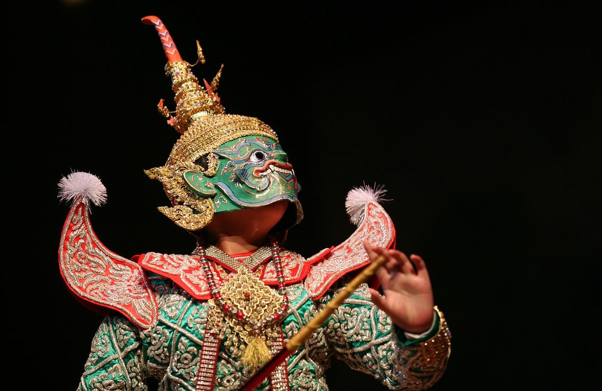 Khon performances