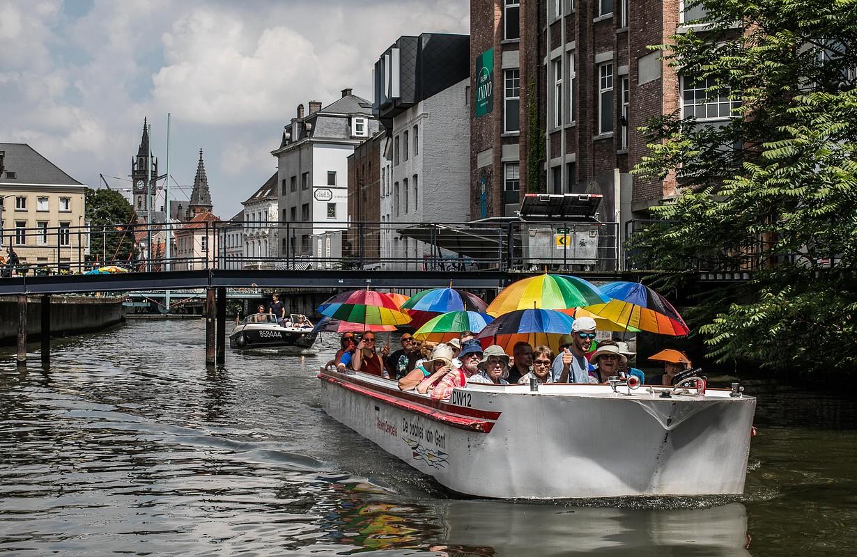 Boottochten op de Gentse binnenwateren