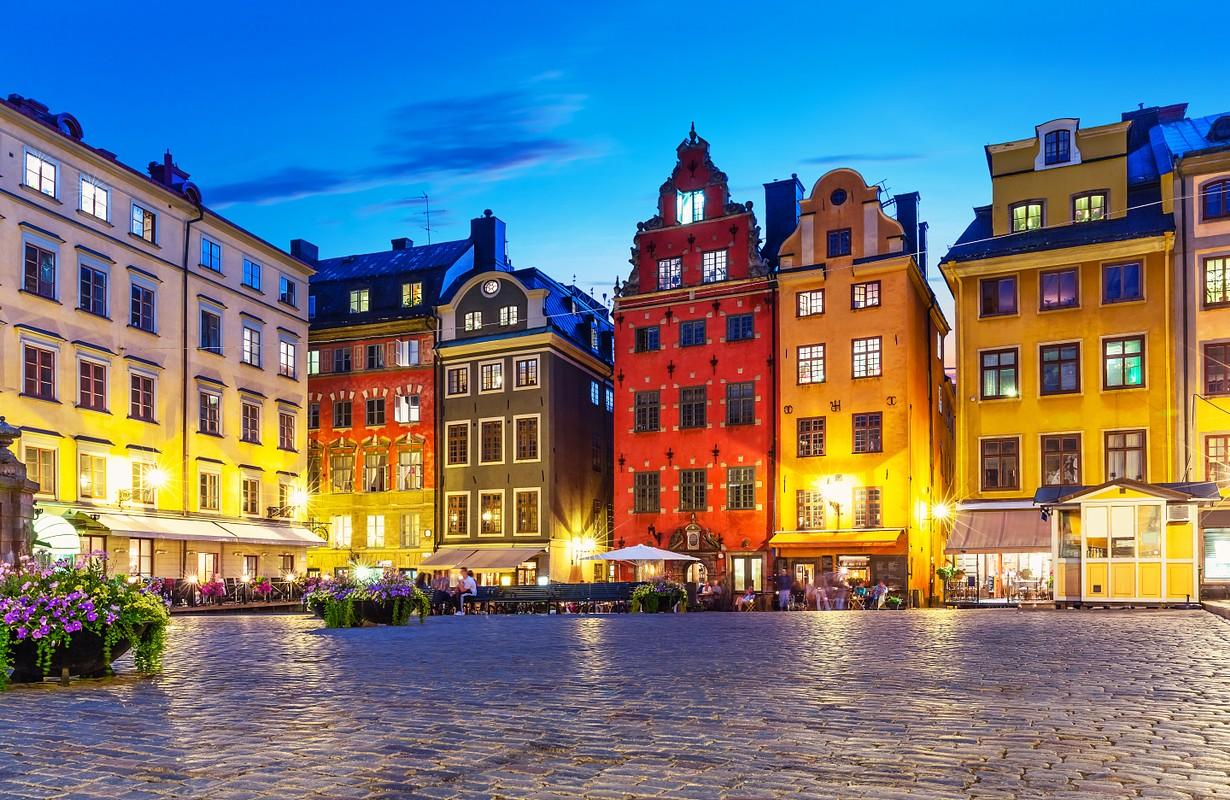 Gamla Stan at night - Stockholm