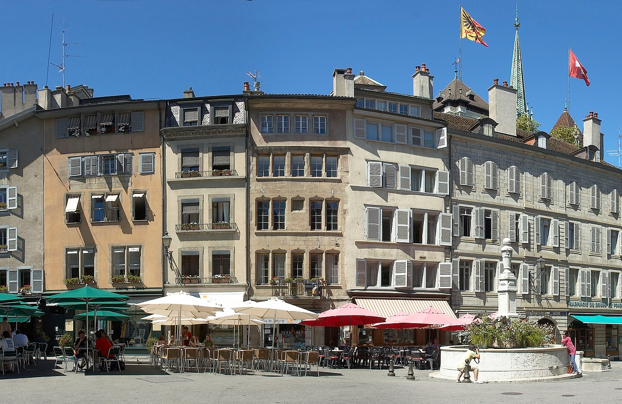 Place du Bourg-de-Four, Geneva