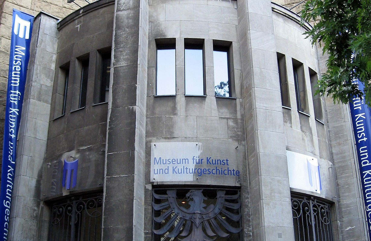 Dortmund, Museum für Kunst- und Kulturgeschichte, Untere Hansastraße, Eingangsbereich