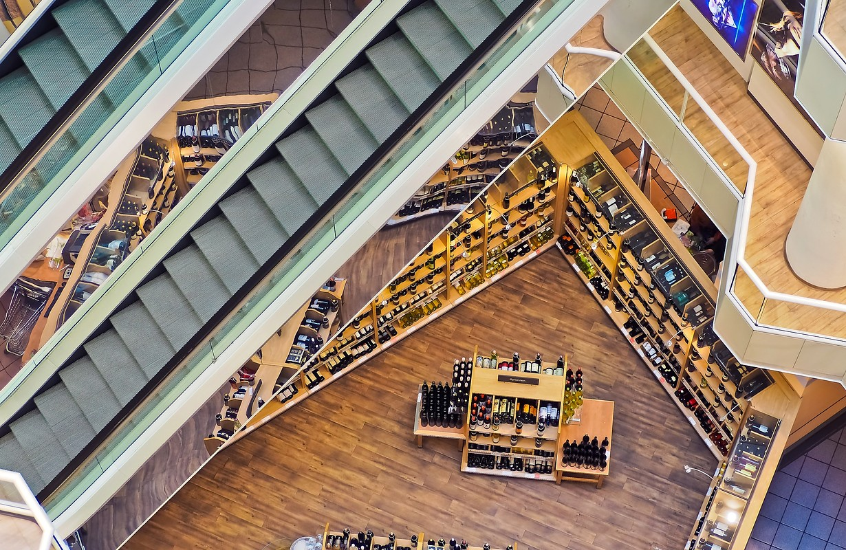 Arcaden shopping center