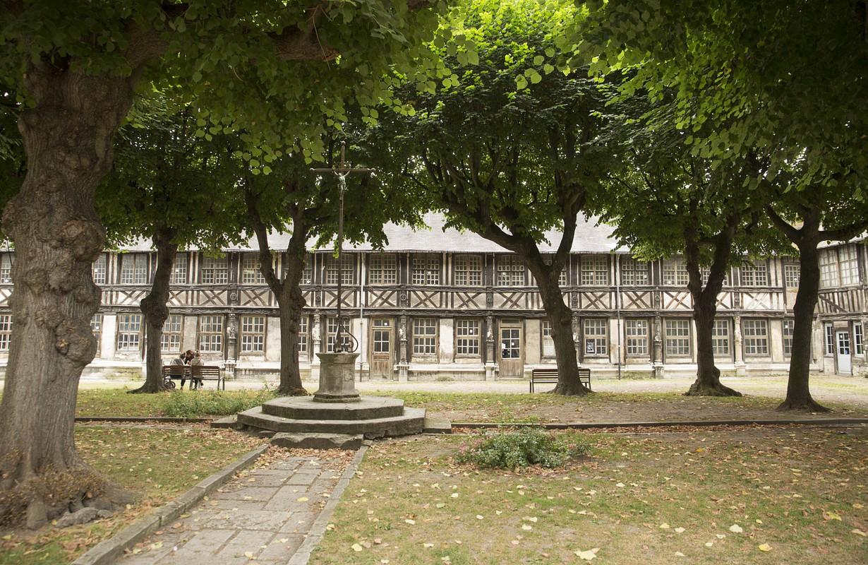 Aitre St Maclou Rouen France