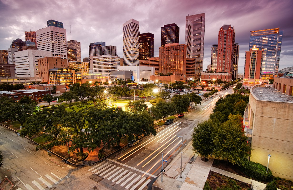 Downtown Houston - Texas, USA