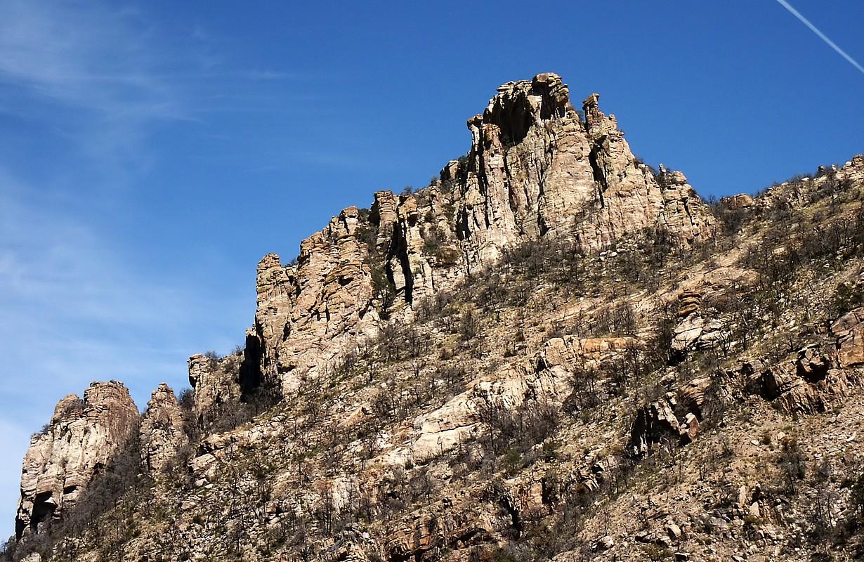 Outcropping on Mt. Lemmon, Tucson AZ