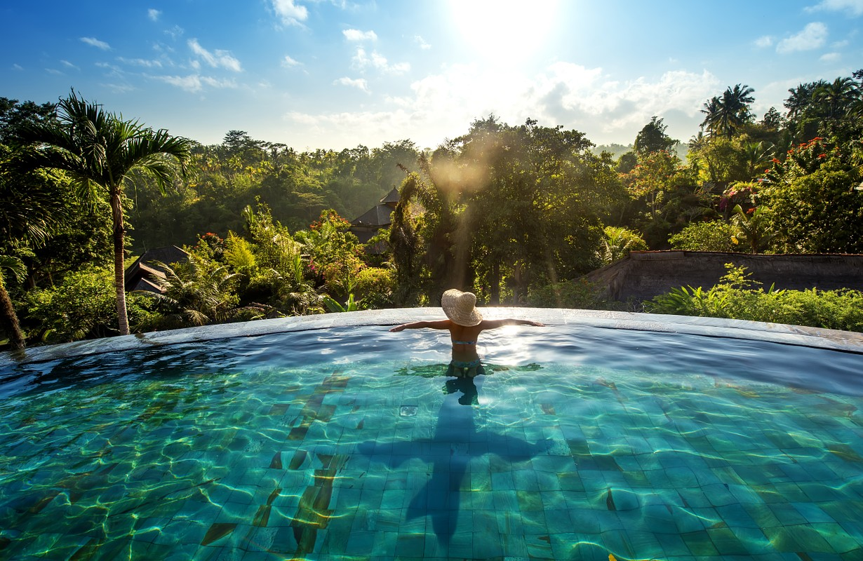 Luxurious resort