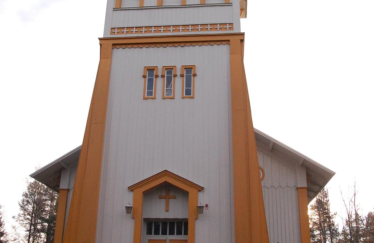 Tärändö church, Pajala, Norrbotten, Sweden