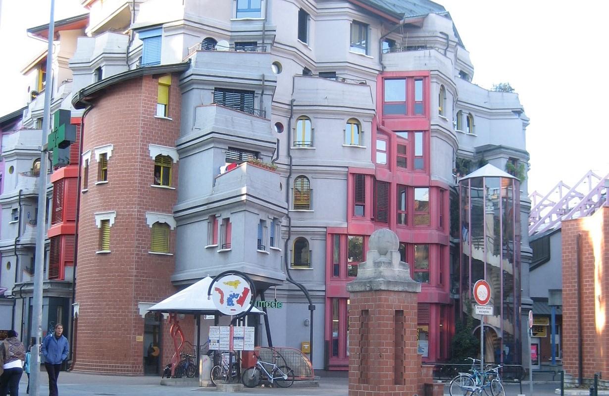 """""""Smurfs"""" Buildings, Geneva"""