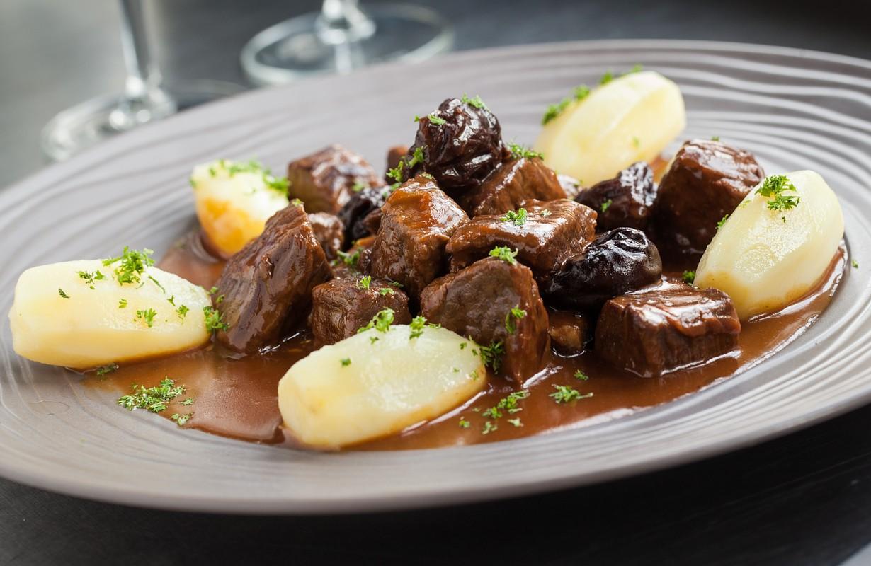 Flemish dish carbonade