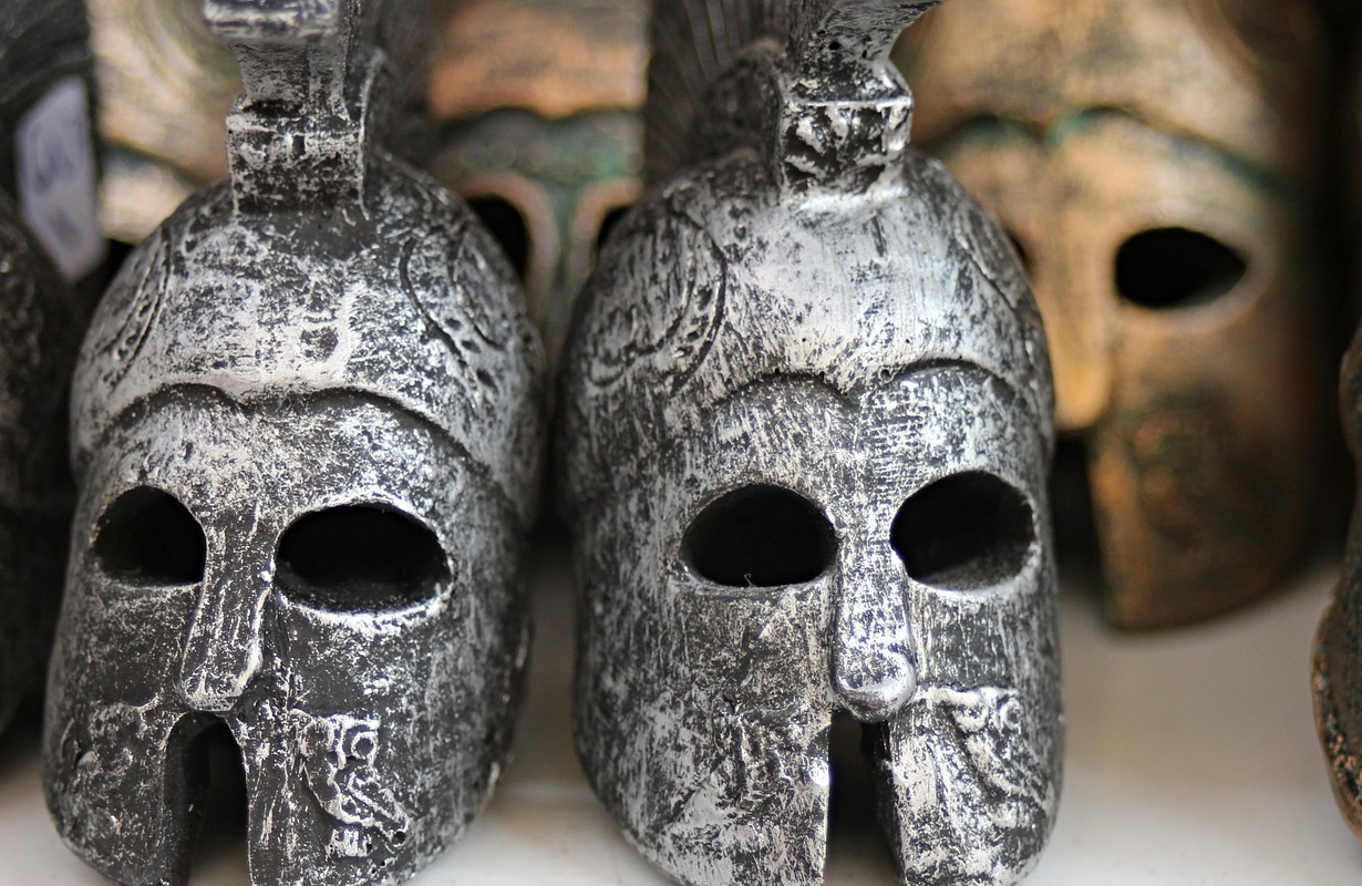 corinthian helmets