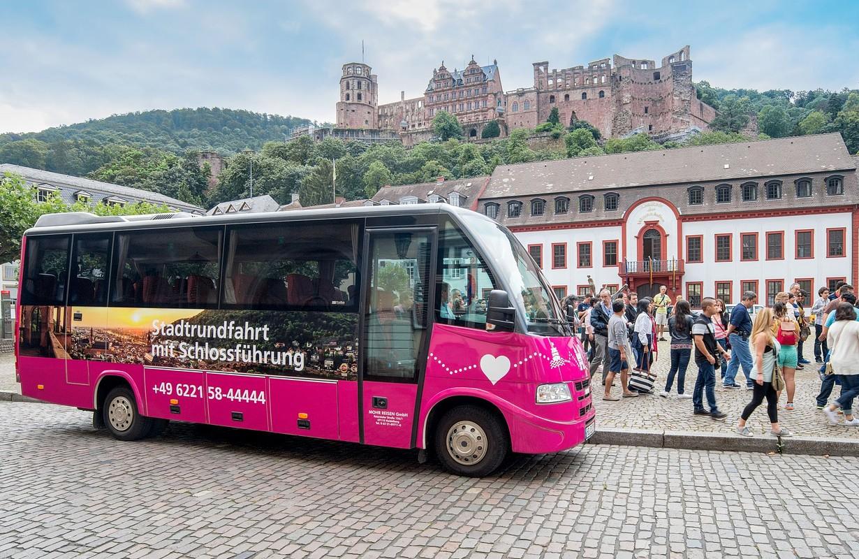 Stadtrundfahrt und Schlossführung
