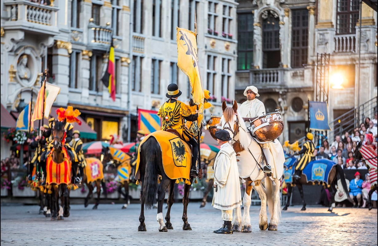 The Ommegang, Brussels' oldest historical pageant, Brussels