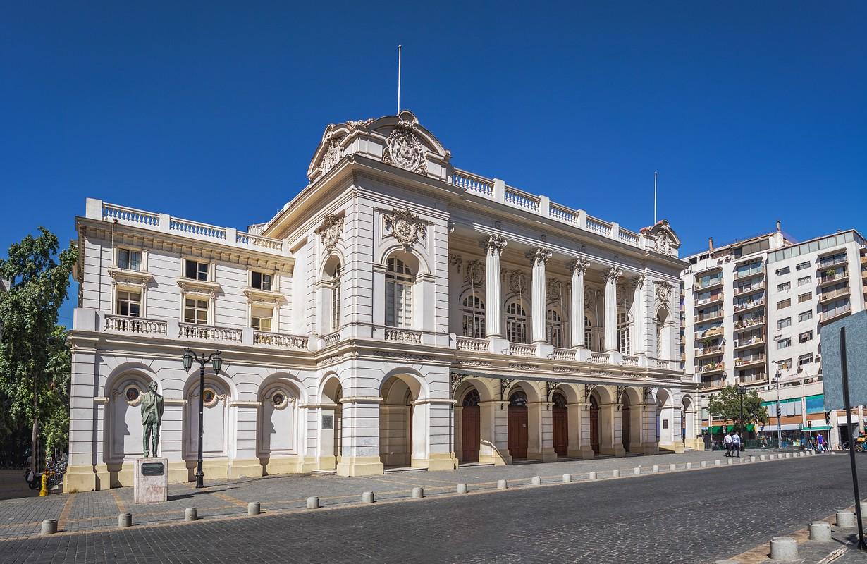 Municipal Theater - Santiago, Chile - Picture