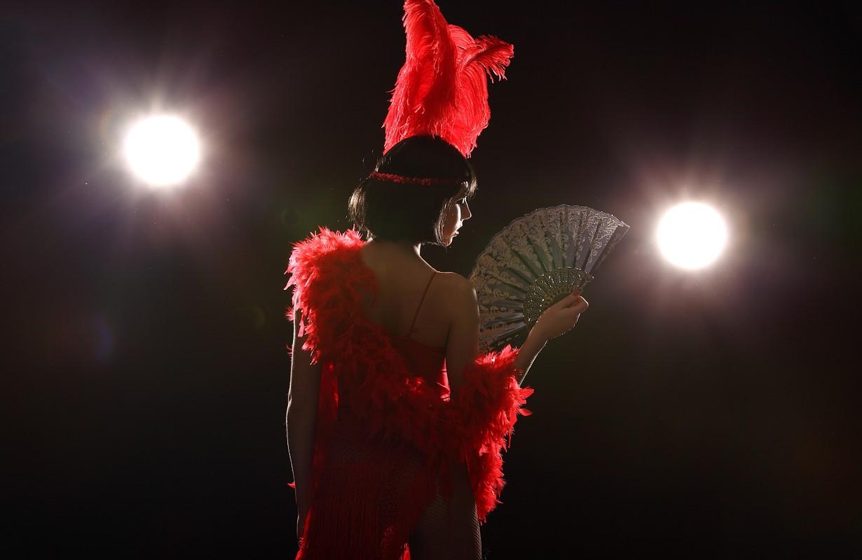 Burlesque dancer - Atlanta, Georgia