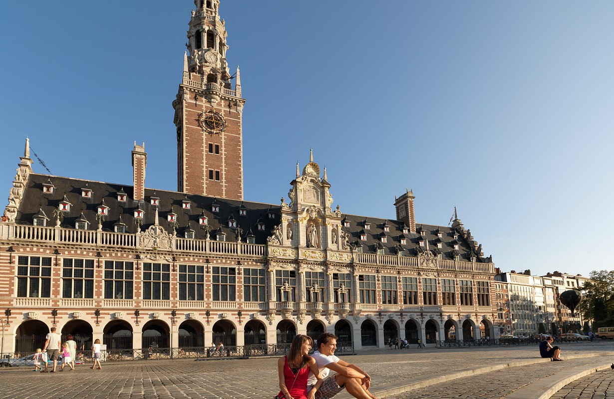 Central University Library & tower, Leuven