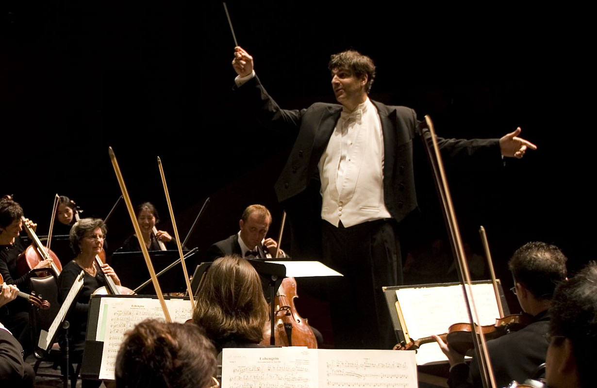 Stockton Symphony Conductor, Peter Jaffee