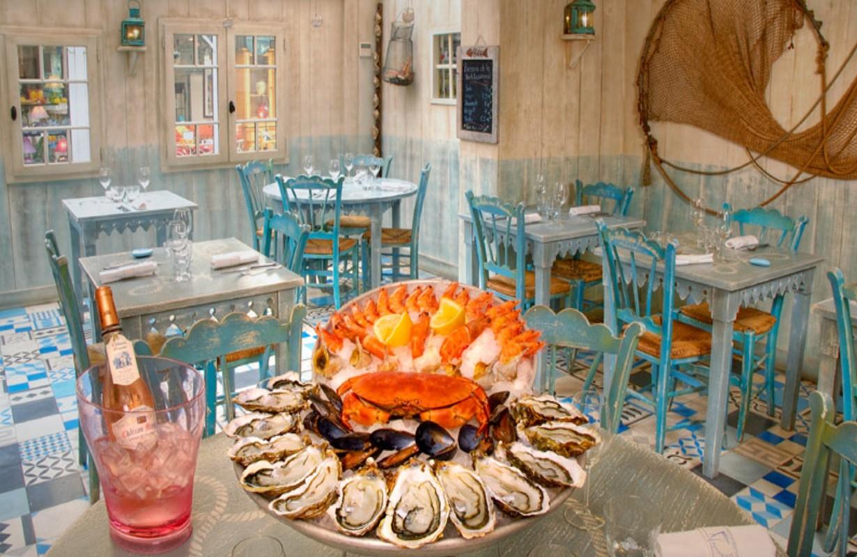 Cap d'Agde, restaurant les Halles