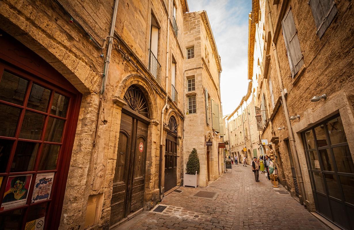Pézenas, rue de la Foire (Fair street)