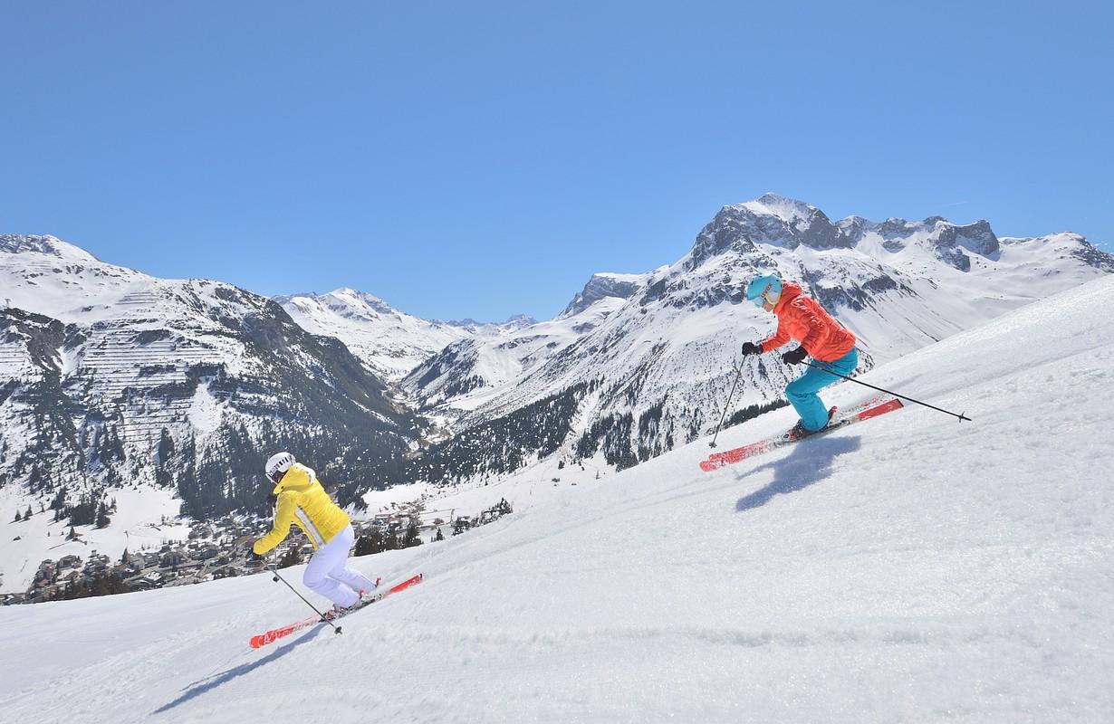 Skiing in Lech Zürs am Arlberg