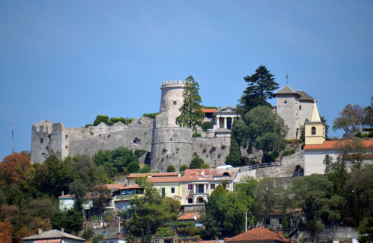 Croatia. City of Rijeka. Trsat Fortress