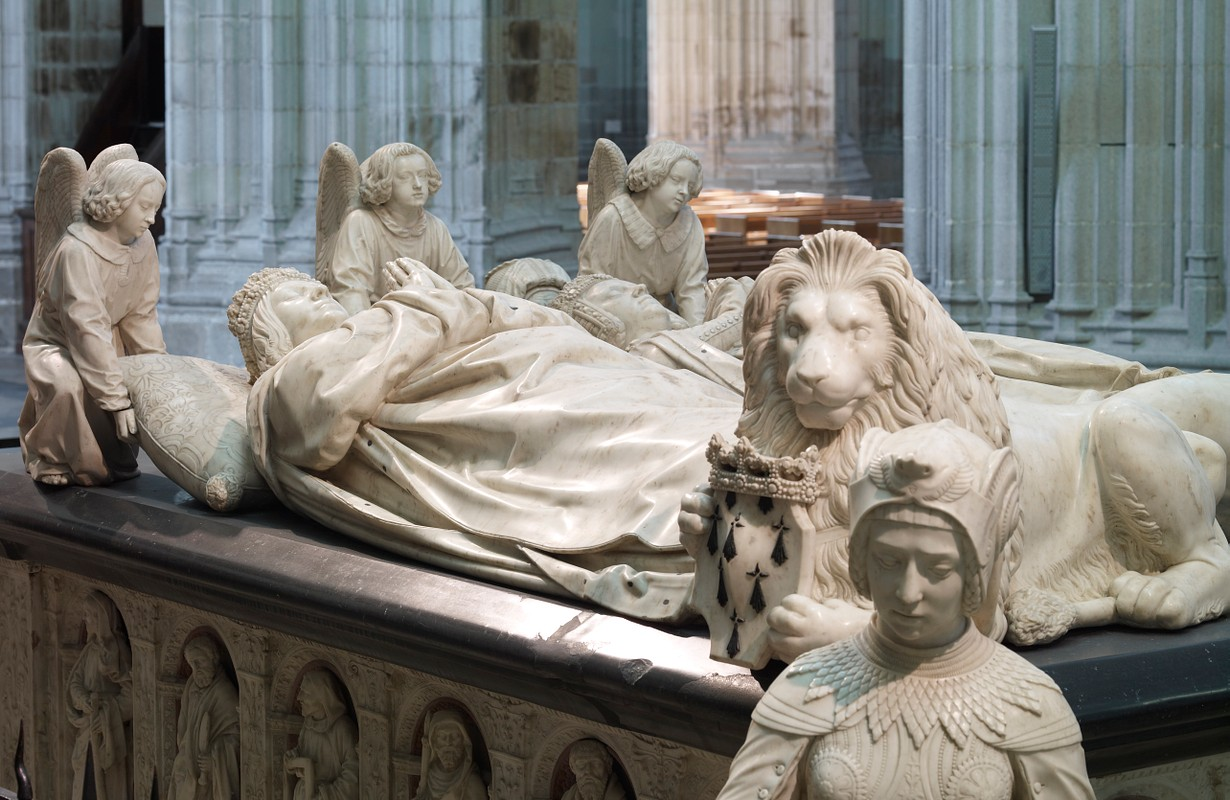 Tomb of Anne of Brittany parents