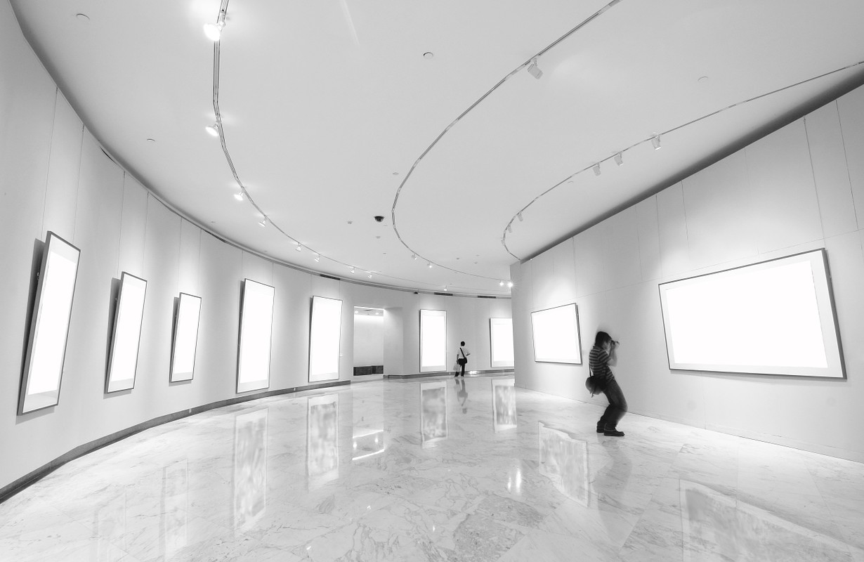 Art gallery concept